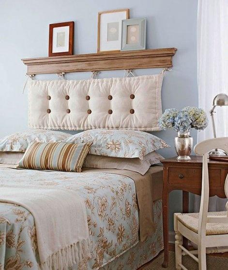Декор спинки кровати фото