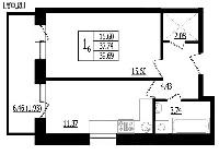 Ремонт с перепланировкой: объединение балкона/лоджии с кухне.