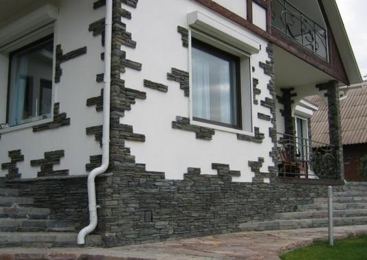 Фасада декоративным кирпичом отделка
