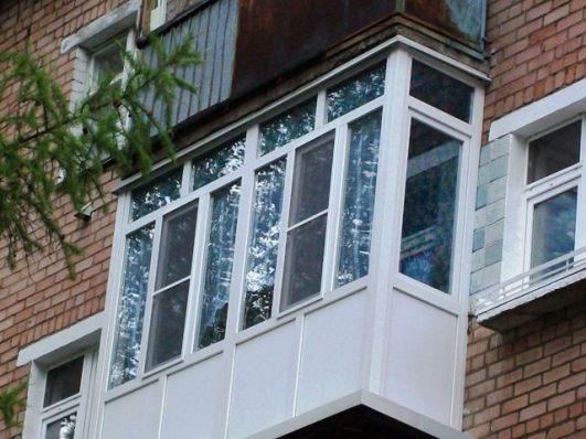 Застеклить балкон в хрущевку. - наши работы - каталог статей.