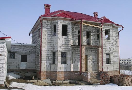 дом спб, дом из пеноблоков под ключ