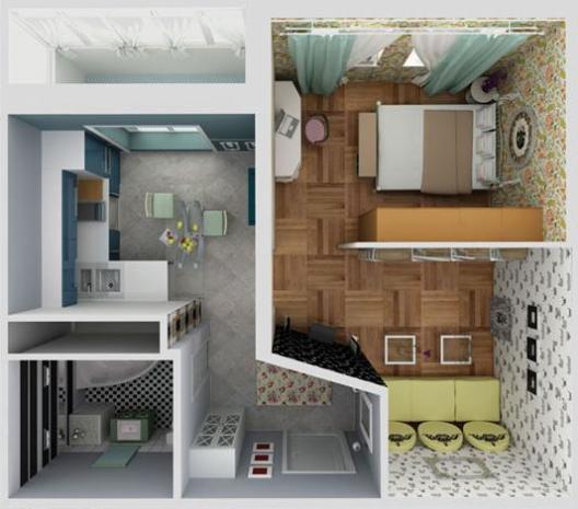 Дизайн квартир эконом класс