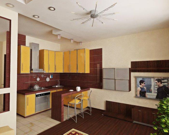 Ремонт маленьких квартир студий фото