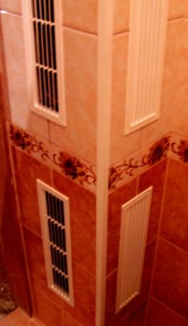 Монтаж вентиляции в многоквартирном доме.