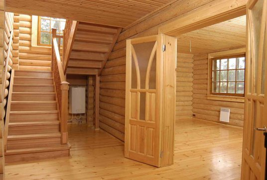 Потолок для деревянного дома своими руками