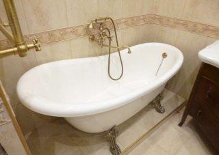 Ремонт ванной комнаты от компании СВ Групп