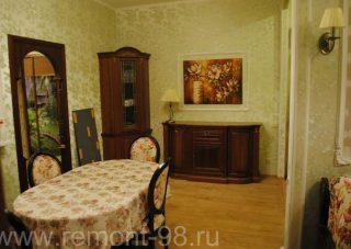 Пример ремонта квартиры Ремонт студии в Сестрорецке