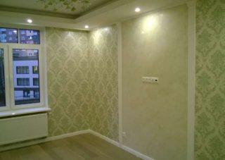 Пример ремонта квартиры Евроремонт квартир в Санкт-Петербурге