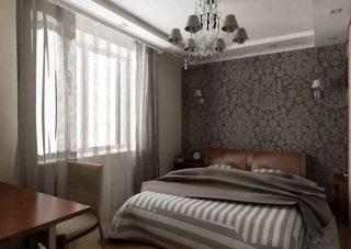 Ремонт спальни от компании СВ Групп