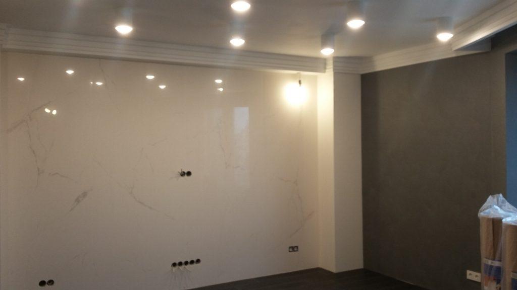Ремонт квартиры на ул. Лиственная, 18 спб от компании СВ групп