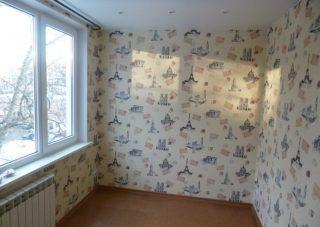 Пример ремонта квартиры Косметический ремонт комнаты