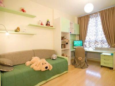 Ремонт детской комнаты от компании СВ Групп