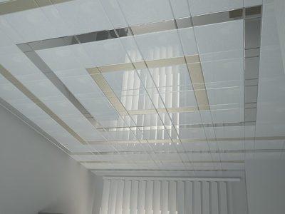 Установка алюминиевых потолков