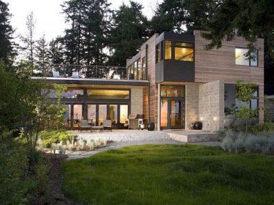 Экологический загородный эко-дом