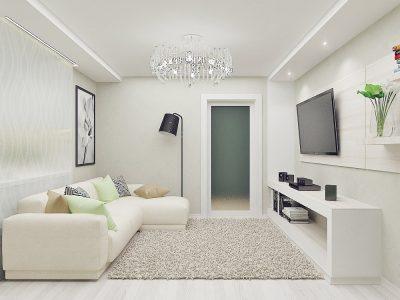 Статья Интерьер квартиры в светлых тонах