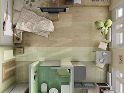 Квартира–студия – преимущества, характеристики