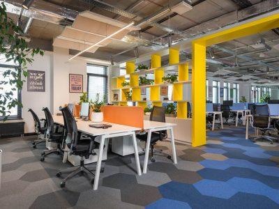 Оформление офисного помещения в современном стиле