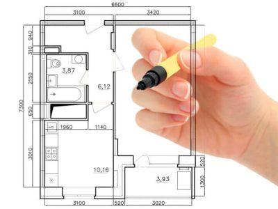 Грамотное планирование пространства: кухня, гостиная, спальня, коридор