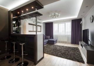 Пример ремонта квартиры Ремонт квартиры студии