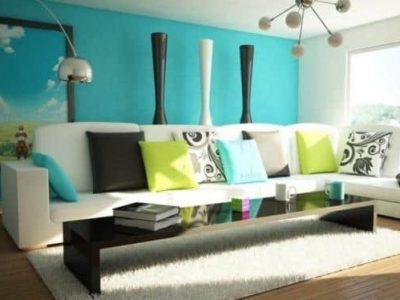 Цвет в интерьере, цветовое решение, оформление квартиры в цвете
