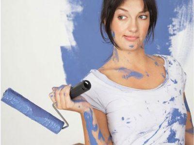 Особенности ремонта квартир женскими руками